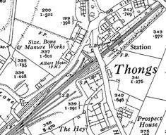 Disused Stations: Thongs Bridge Station Train Map, Altrincham, Disused Stations, Thongs, Maps, Bridge, Lost, Speedos, Blue Prints