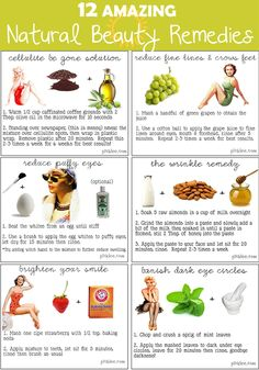 【Health、Beauty、Fitness】: 12 Amazing Natural Beauty Remedies