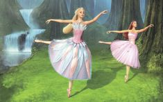 Odette and Fairy Queen - Barbie of Swan Lake