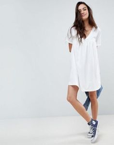 ASOS DESIGN ultimate cotton smock dress