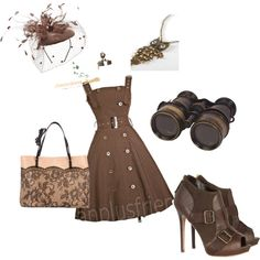 Everyday Steampunk- as soon as I get money my style is going be Steampunk everyday wear, starting  with this outfit