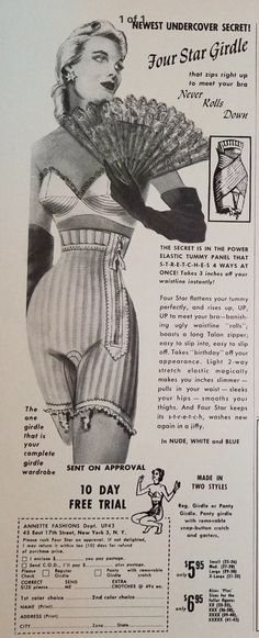 1000 Images About Va Va Voom Vintage Lingerie Ads On