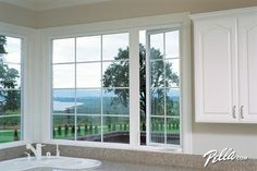 Pella® ENERGY STAR®-qualified 25 series® casement windows: beautiful, durable - traditional - Kitchen - Other Metro - Pella Windows and Doors
