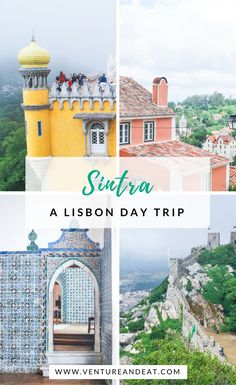 Sintra: A Lisbon Day Trip - Venture & Eat Visiting Lisbon, Portugal? A Sintra day trip is a must! Read this guide on how to get to Sintra and what to do when you're there. Sintra Portugal, Spain And Portugal, Europe Travel Tips, Spain Travel, European Travel, Places To Travel, Travel Destinations, Travel Trip, Travel Packing