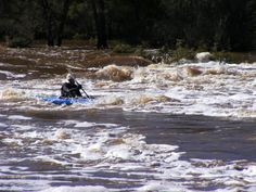Walyunga National Park WA - part of the course of the Avon Descent, a 2 day white water race for canoes and power boats held every August.