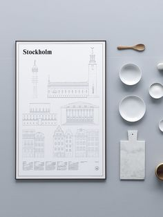 Stockholm Elevations by Studio Esinam - via cocolapinedesign.com