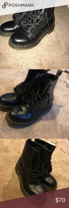 Dr.Martens doc martens size 6 Only worn a couple times pretty good condition size 6 may fit a size 7.. Dr. Martens Shoes Combat & Moto Boots