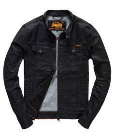 Superdry Biker Black Jacket