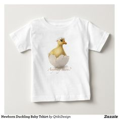 Newborn Duckling Baby Tshirt