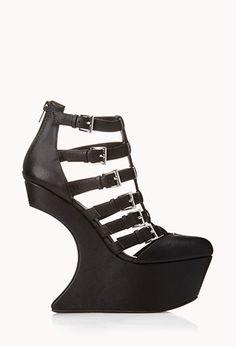 Bold Heel-Less Wedges | FOREVER21 - 2040495583
