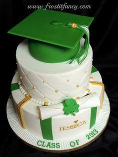 Green cap - elegant color combo