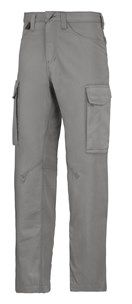 Made of durable yet soft and stretchy easy-care fabric for superior long-lasting comfort, these Service Trousers help you deliver the best service you can. Available in a large size range and four colors.  - Snickers Workwear Artnr. 6800