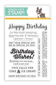 Simon Says Clear Stamps BIRTHDAY MESSAGES SSS101391 at Simon Says STAMP!