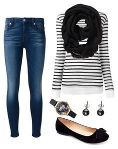"""""""confy"""" by andy-ag on Polyvore featuring 7 For All Mankind, Alexander Wang, Machi, Old Navy and Olivia Burton"""