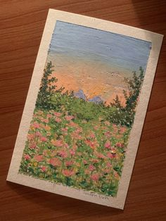 Pretty Art, Cute Art, Arte Sketchbook, Pastel Art, Watercolor Art, Watercolor Sunset, Aesthetic Art, Art Inspo, Painting & Drawing