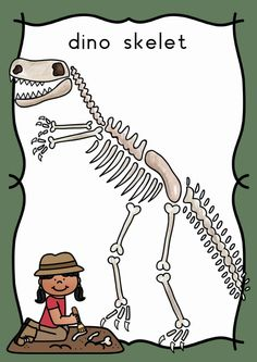 Thema dino's | Klas van juf Linda Dinosaur Activities, Dinosaur Crafts, Dragons, Dinosaur Bones, Busy Book, Prehistory, Drawing For Kids, Prints, Museum