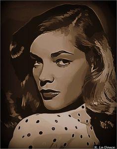 Lauren Bacall by ~Nestorladouce on deviantART