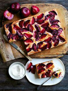 Plum Recipes, Tart Recipes, Sweet Recipes, Baking Recipes, Dessert Recipes, Donna Hay Recipes Baking, Fruit Recipes, Recipies, Praline Recipe
