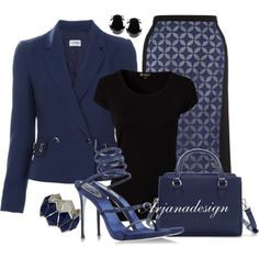 """PHILOSOPHY DI ALBERTA FERRETTI Fitted jacket"" by arjanadesign on Polyvore"