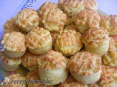 A legjobb Sajtos pogácsa recept fotóval egyenesen a Receptneked.hu gyűjteményéből. Küldte: Domján Mária