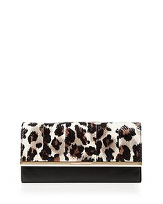 This Bloomingdale's exclusive DVF clutch is all you need when popping out for brunch. Pair with your favorite skinnies or wear with our wrap dress! #100PercentBloomies
