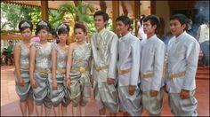 Cambodian Traditional Wedding Dress