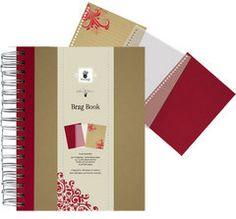 Brag book red