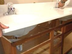 how to demo a bathroom prior to remodeling.