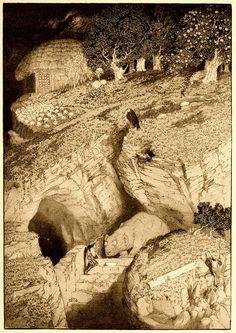 Sidney Sime - He Felt As A Morsel (1912) by Aeron Alfrey, via Flickr