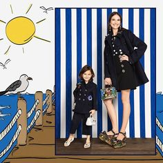 From tailoring to casualwear the themes of the ready to wear adult collections are reinterpreted for little ones. #DGMarina #DGFamily #DGBambino  via DOLCE & GABBANA OFFICIAL INSTAGRAM - Celebrity  Fashion  Haute Couture  Advertising  Culture  Beauty  Editorial Photography  Magazine Covers  Supermodels  Runway Models