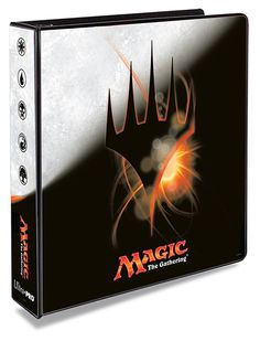 """Ultra Pro Magic Origins 2"""" Album: This 3-ring album holds Ultra PRO 9-pocket pages and has a beautiful 4-color printed embedment cover"""