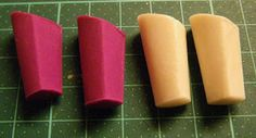Fashion Doll Shoes: Making modeling clay heels