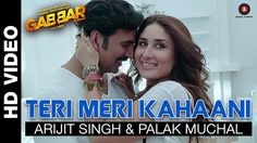 Teri Meri Kahaani Lyrics and HD Video Song From Gabbar Is Back Movie: The Wait is over fellows the most recent just took the ribbon off new Song Teri Meri Kahani by the most prevalent singer of bollywood music Arijit Singh & Palak Muchal from a. Latest Movie Songs, New Movie Song, Indian Movie Songs, Song One, Best Songs, Film Movie, Love Songs, Bollywood Music Videos, Bollywood Movie Songs