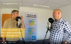 Nyhed! Vores meget populære podcasts om salg er på video!