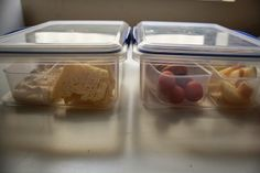 cks or pasta+snacks or salad+snacks, are large enough that I can place smaller containers in the sections but small enough to fit nicely int...