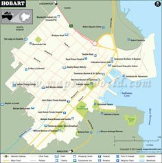 Buy world map with countries and capitals capital city and city map of hobart city australia gumiabroncs Choice Image