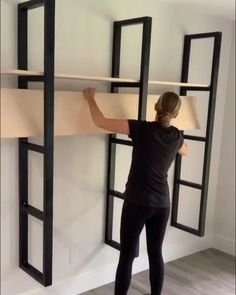 Building Furniture, Diy Furniture Projects, Home Projects, Outdoor Furniture, Cheap Home Decor, Diy Home Decor, Decoration Crafts, Shelving, Ladder Shelves