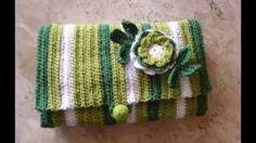 Crochet. muestra de bolsos variados