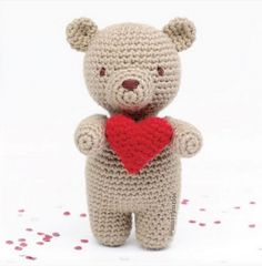 Little Valentine Bear Amigurumi Pattern