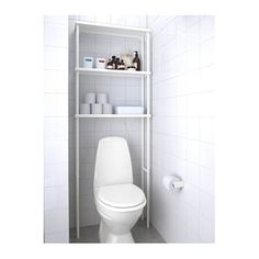 IKEA DYNAN open storage Takes up very little floor space since the open storage is shallow.