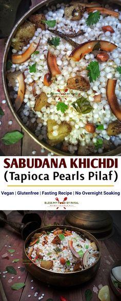 Best Vegetarian Recipes, Delicious Vegan Recipes, Veggie Recipes, Indian Food Recipes, Beef Recipes, Vegetarian Food, Easy Recipes, Sabudana Recipes, Sabudana Khichdi
