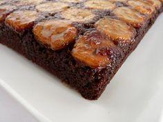 Chocolate Banana Upside Down Cake  :pastry studio: cake