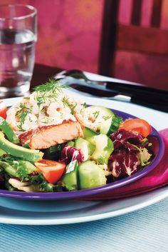 Lohisalaatti ja katkarapuaioli | K-ruoka