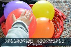 giochi bambini palloncini sensoriali