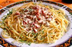 Recetas, recetas faciles, macarrones, espagueti, carbonara, ravioli, pasta carbonara, fetuccini, macarrones con queso, ravioles, fideo, tallarines, espaguetis a la carbonara, espaguetis carbonara, pasta al pesto, raviolis, espagueti a la boloñesa todo lo que debes conocer. Pasta Carbonara Receta, Spaghetti, Fettuccine Alfredo, Junk Food, Macarons, Pesto, Food And Drink, Tacos, Cooking