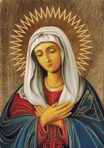 Ikona z certyfikatem - Maryja Matka Boża Miłosierdzia