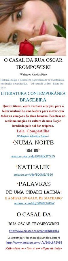 CASAL DA RUA OSCAR TROMPOWISKI/CONTOS ERÓTICOS BRASILEIROS/W A Pinto. Leia: http: amazon.com/dp/B00NJAKOA4