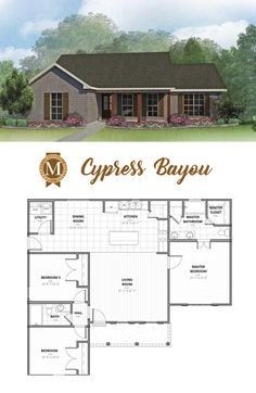 Cypress Bayou Living Sq Ft: 1,400 Bedrooms: 3 Baths: 2 Lafayette Lake Charles Baton Rouge