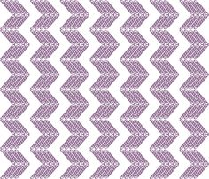 zigzag_blanc fabric by mimix on Spoonflower - custom fabric Zig Zag, Custom Fabric, Spoonflower, Fabric Design, Craft Projects, Kids Rugs, Quilts, Sewing, Raisin