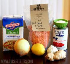 lentils ingredients